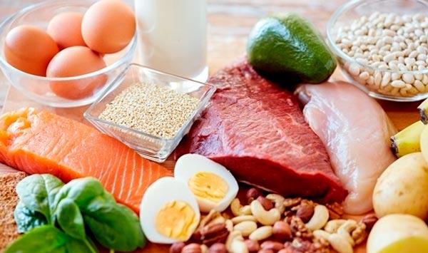 alimentos para la hipertrofia muscular nocturna