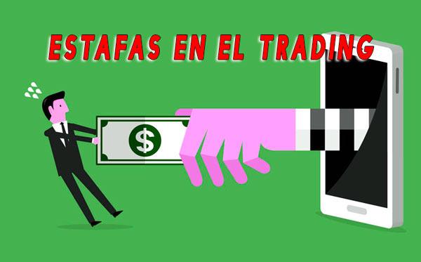 estafas en el trading