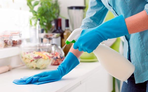 desinfectar la casa de virus y bacterias