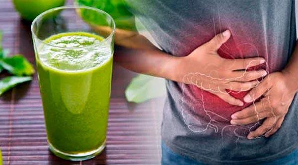 zumo de limpieza aumento de peso